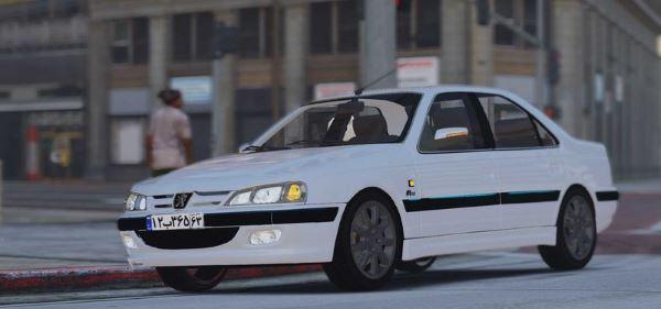 Peugeot Pars для GTA 5