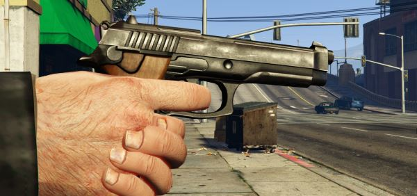 Max Payne 3 - PT92 Retextures v 2.0 для GTA 5