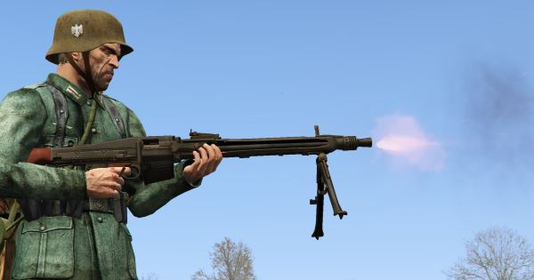 MG-42 [Add-On / Replace] v 3.0 для GTA 5
