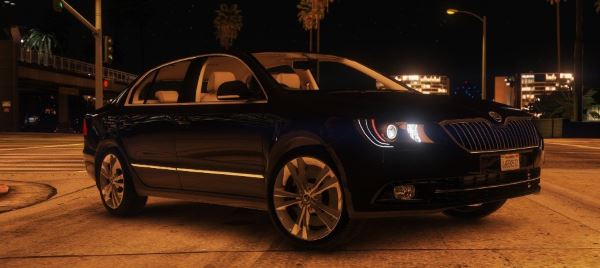2014 Škoda Superb [Add-On / Replace] v 1.4 для GTA 5