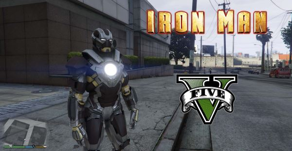 Iron Man Mark 24 Tank [Add-On Ped] для GTA 5