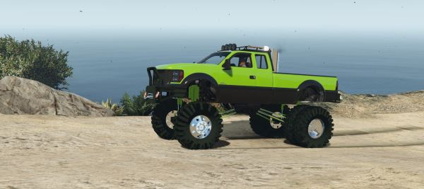 Sandking HD Monster Dually v 1.2.1 для GTA 5