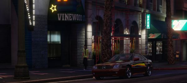 Mercedes-Benz SL500 1995 [Add-On / Replace] v 1.4.2 для GTA 5