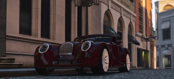 2010 Morgan Aero SuperSports [Add-On / Replace] v 1.4 для GTA 5