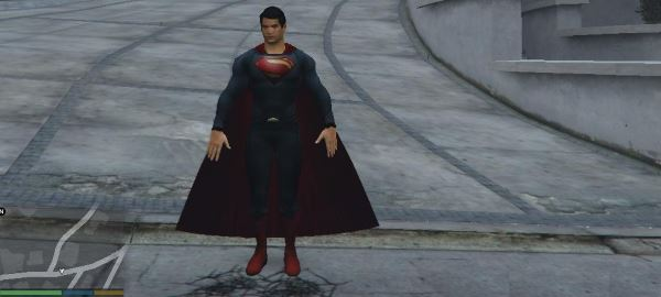 Superman (Man Of Steel) [Add-On Ped] для GTA 5
