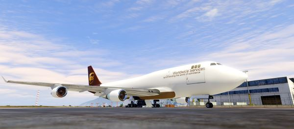 Boeing 747-400 Freighter [Add-On / Replace] для GTA 5
