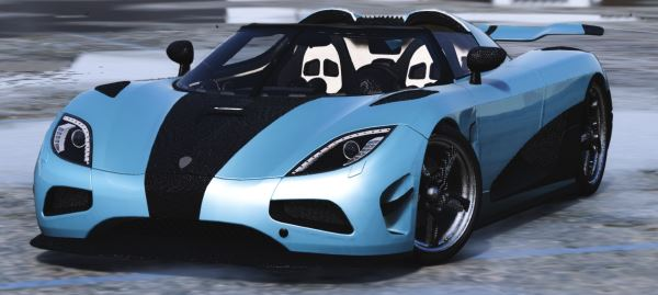 Koenigsegg Agera R with door script [Add-On] для GTA 5