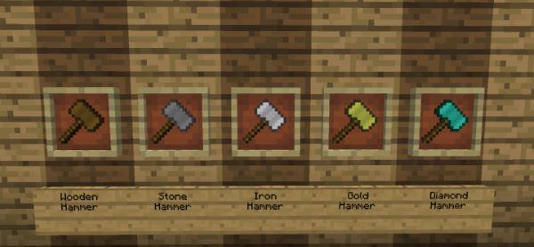 Sparks Hammers для Майнкрафт 1.11
