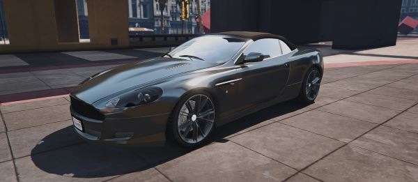 Aston Martin DB9 Volante [Add-On / Replace] v 1.4 для GTA 5