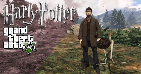 Harry Potter and Hermione для GTA 5