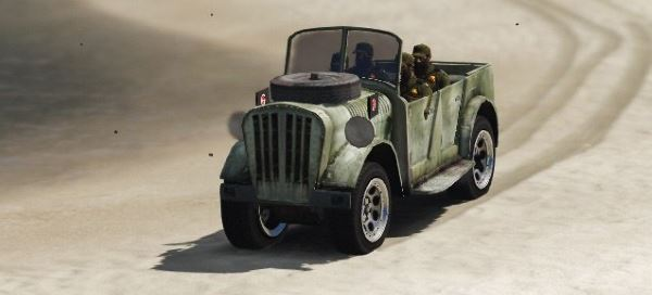 World War II Jeep для GTA 5