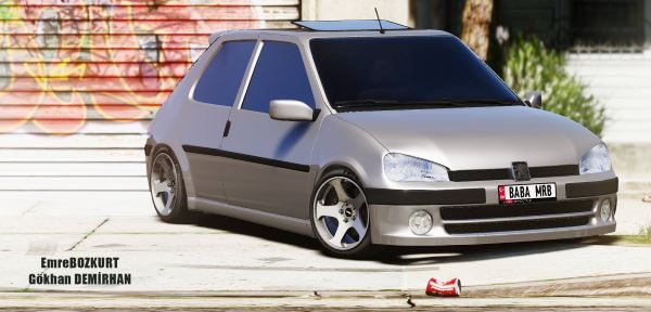 Peugeot 106 [Add-On / Replace] для GTA 5