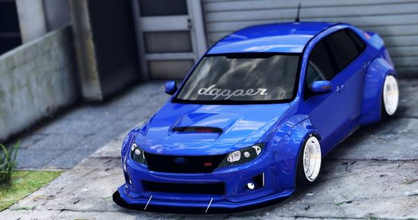 Subaru WRX STi Widebody для GTA 5
