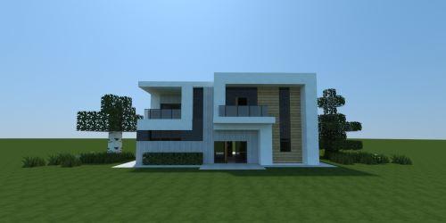 Small Modern House 4 для Майнкрафт 1.11