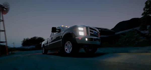 2008 Ford F350 Superduty [Add-On / Replace] 1.1 для GTA 5