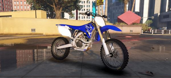 2009 Yamaha YZ250F [Add-On] для GTA 5