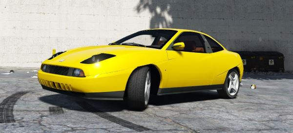 Fiat Coupe [Add-On / Replace] для GTA 5