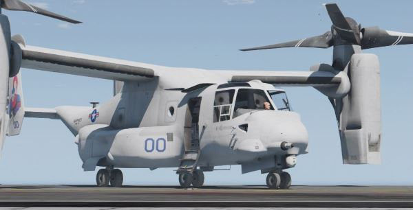 USMC MV-22B (8 liveries w/ illuminated rotors) для GTA 5