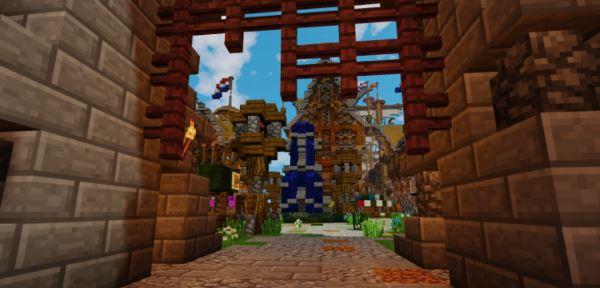 Harbor Survival Spawn для Майнкрафт 1.11