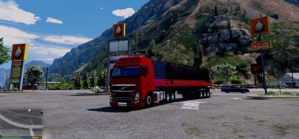 Volvo FH and Trailer для GTA 5