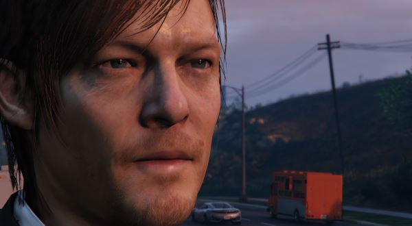 Norman Reedus [Add-On Only] для GTA 5