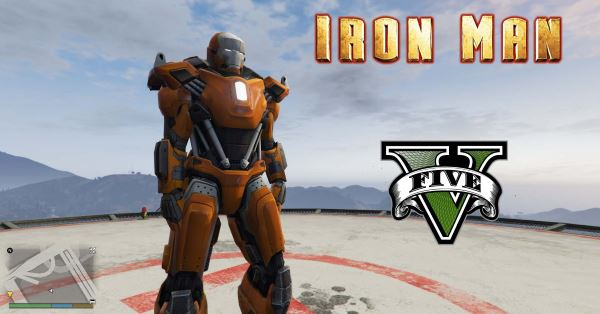 Iron Man Mark 36 Peacemaker [Add-On Ped] для GTA 5