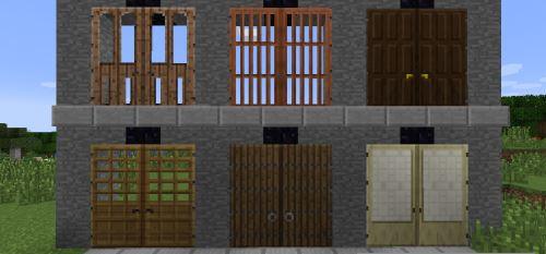 Big Doors для Майнкрафт 1.10.2