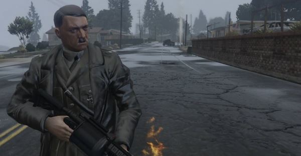 Adolf Hitler [Add-On Ped] v 1.1 для GTA 5