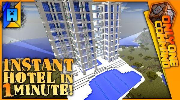 Hotel Generator для Майнкрафт 1.11