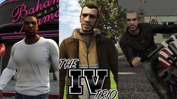 The IV TRIO для GTA 5