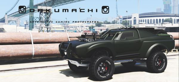 Custom Duke Trophy Truck [Menyoo] 1.2 для GTA 5