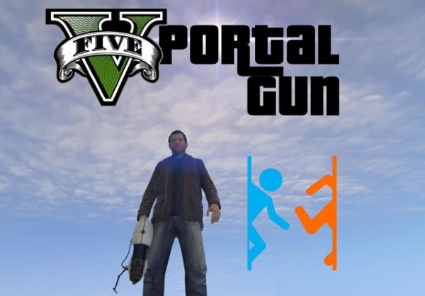 Portal Gun [.NET] v 2.3 для GTA 5