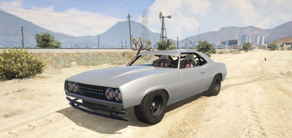 Declasse Vigero Stock Car [Replace] для GTA 5