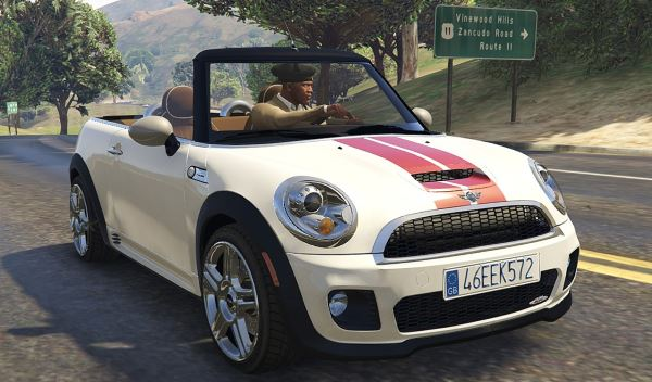 Mini R57 JCW Convertible (4in1) [Add-On | Tuning | Livery] 1.61 для GTA 5