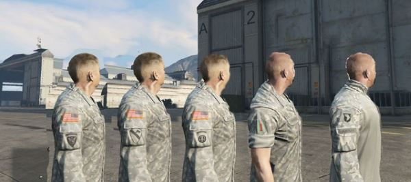 BH's United States Military Mod для GTA 5
