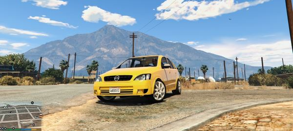 Chevrolet Corsa Hatch 2012 для GTA 5
