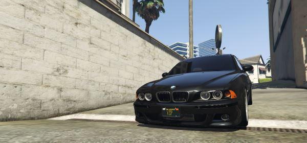 2003 BMW M5 E39 для GTA 5