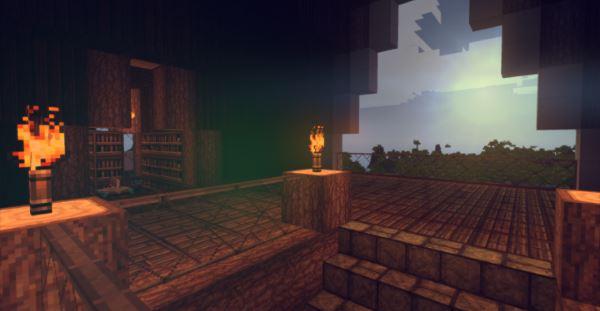 Medieval Windmill House для Майнкрафт 1.11
