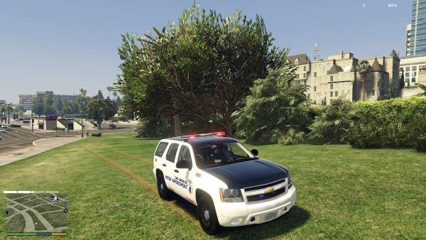 [ELSS] San Andreas Motor Enforcement Chevrolet Tahoe 2.0 для GTA 5
