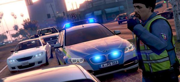 BMW 530D Polizei Bayern для GTA 5