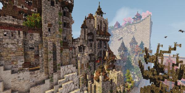 Castle Bensozia для Майнкрафт 1.7.10