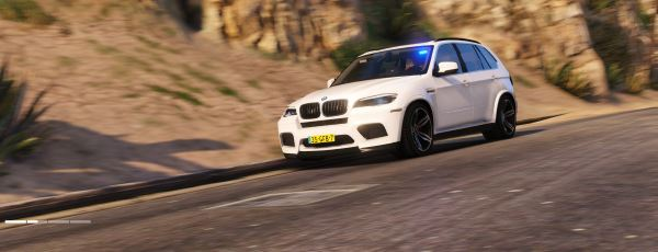 Unmarked BMW X5 M Dutch Police 1.2 для GTA 5