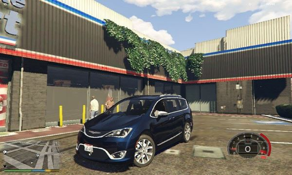 2017 Chrysler Pacifica Limited 1.1 для GTA 5