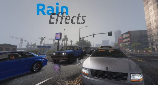 Rain Effects - Enhancement Script 1.5 для GTA 5