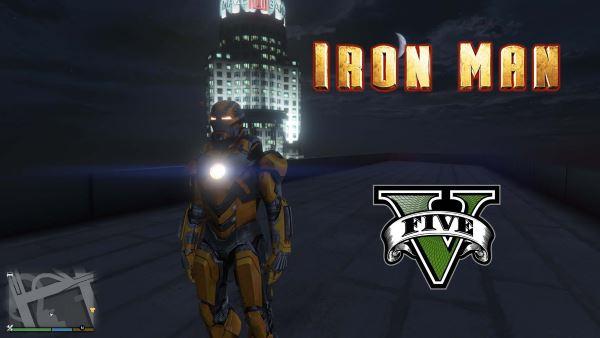 Iron Man Mark 28 Jack [Add-On Ped] для GTA 5