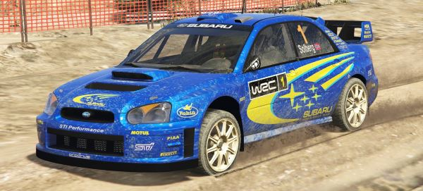 Subaru Impreza S11 WRC [Add-On | Livery] 1.5 для GTA 5