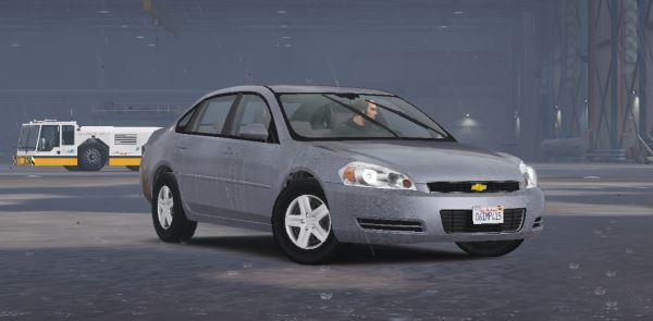 2006 Chevrolet Impala LS [Wipers | Template | Replace] 1.4 для GTA 5