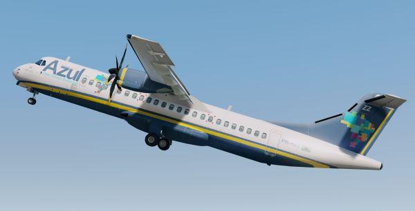 ATR 72-500 Azul Airlines для GTA 5