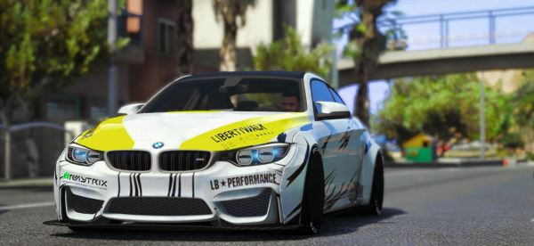 LB Works BMW M4 Series (F82)[REPLACE/ADDON] 2.0 для GTA 5