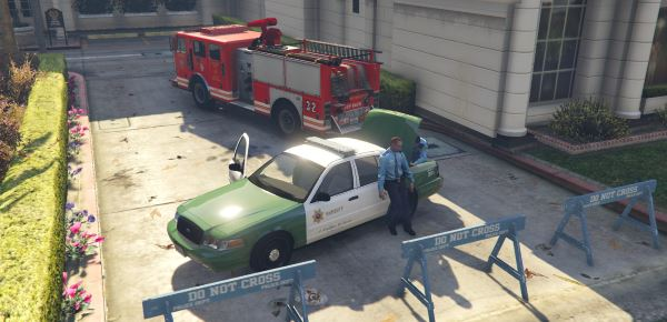 San Andreas Sheriff Crown Victoria 2.0 для GTA 5